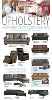 Upholstery, Furniture, Sofa, Couch, Sectional, Recliners