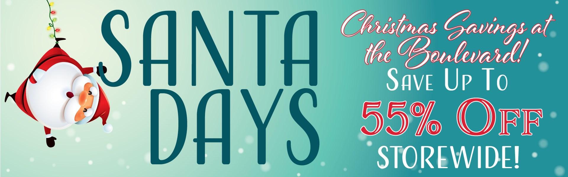 Santa Days Sale