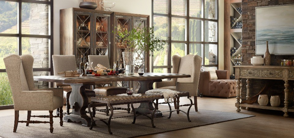Hill Country Dining Table Collection