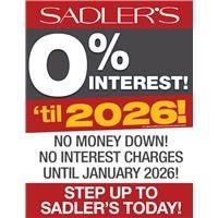 Sadlers No Interest 2026