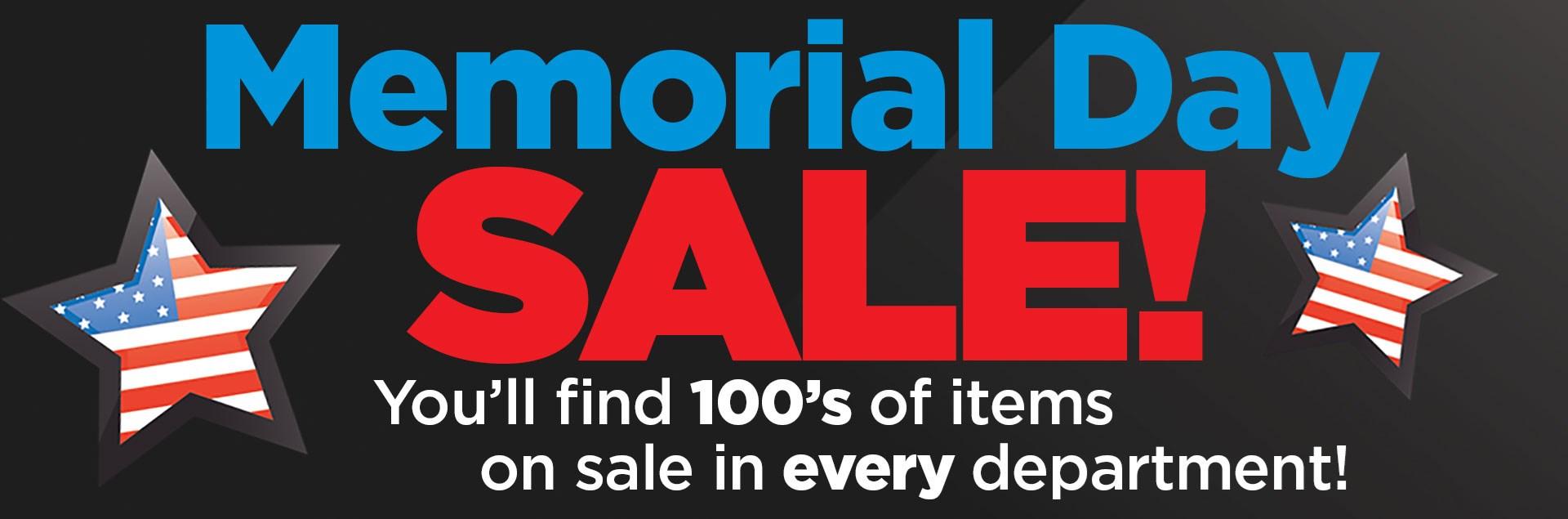 Sadlers Memorial Day Sale