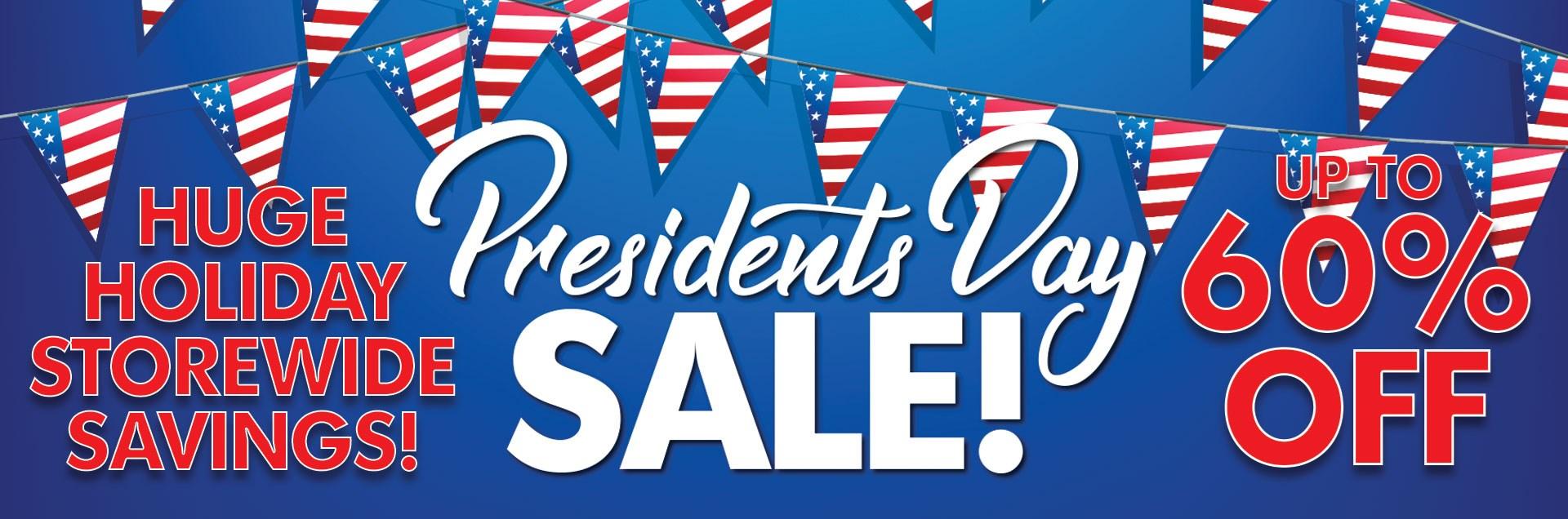 Sadlers Presidents Sale