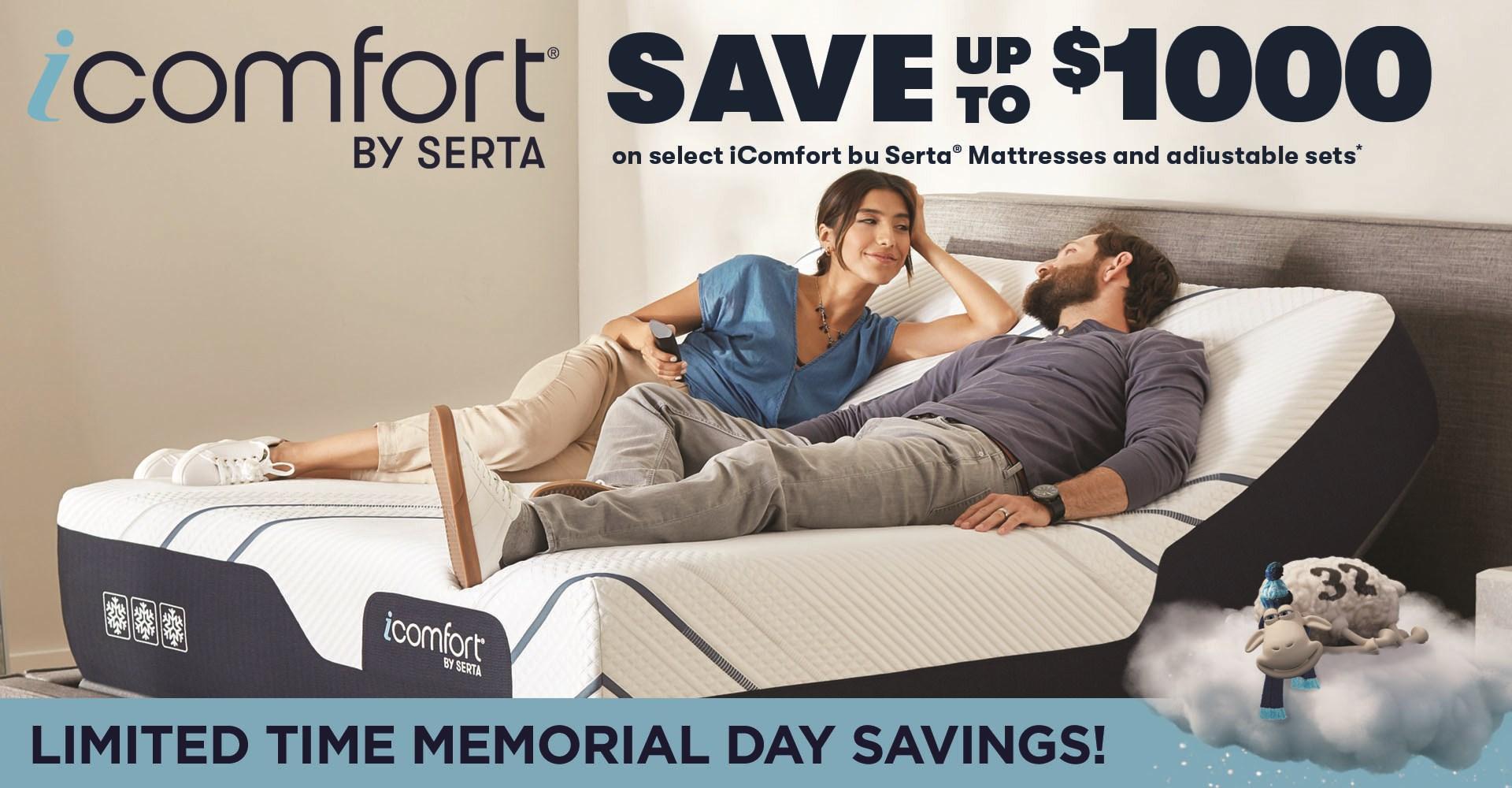 Memorial iComfort Sale