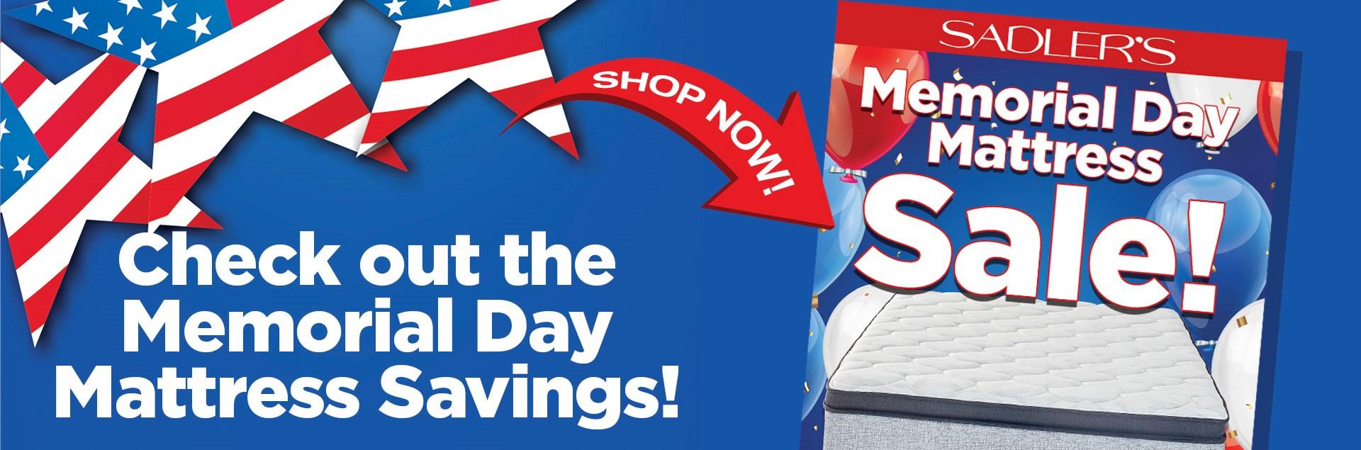 Sadlers Memorial Mattress Sale