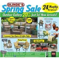 Olinde's Spring Sale Ad
