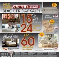 Olinde's Black Friday Held Over Ad