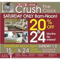 Olinde's Crush The Clock Ad