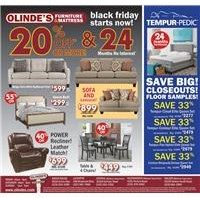 Olinde's Black November Ad