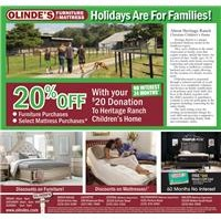 Olinde's Heritage Ranch Ad