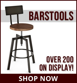 Over 200 Barstools available at Dinette Depot