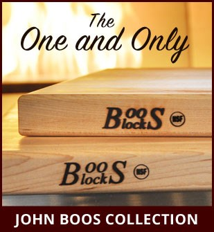 The John Boos Collection is available at Dinette Depot