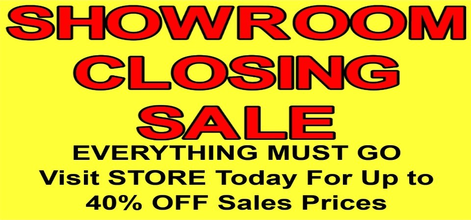 showroom Closeout