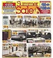 August 2018 Summer Sale Specials