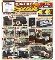 October 2018 Month Long Specials