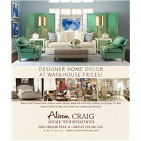 Designer Home Decor at Warehouse Prices at Alison Craig
