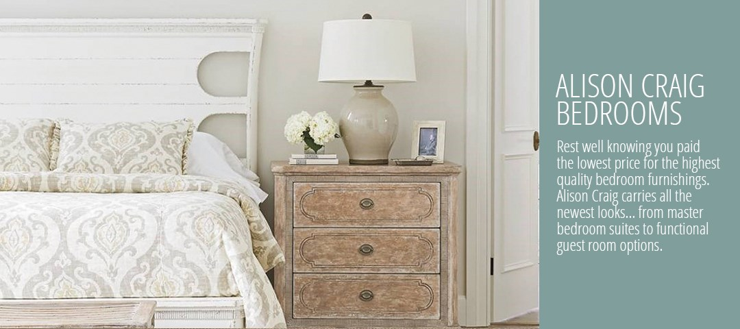 Bedroom Furniture Naples Fl alison craig home furnishings | naples, fort myers, pelican bay