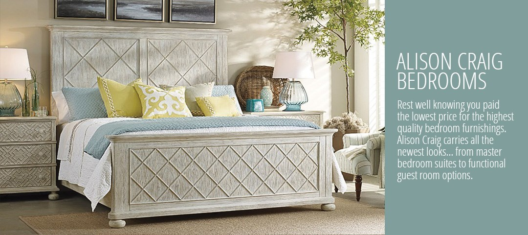 Bedroom furniture at Alison Craig