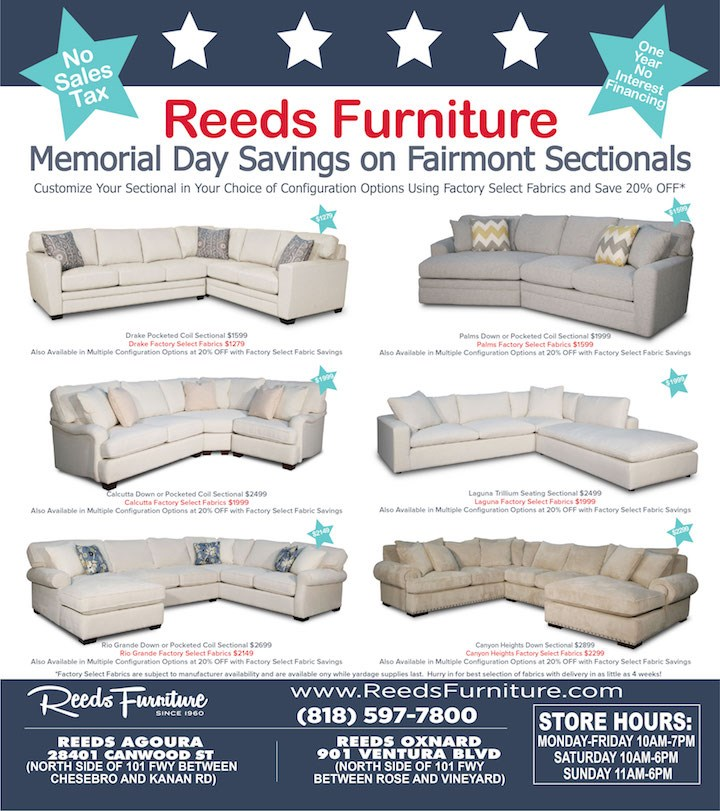 Memorial Day Sale Fairmont Upholstery
