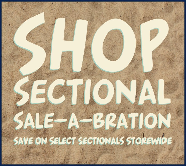 secTIONAL Sale-A-Bration