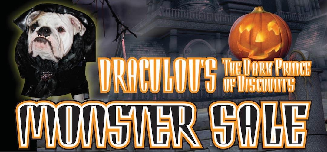 Draculou Monster Sale