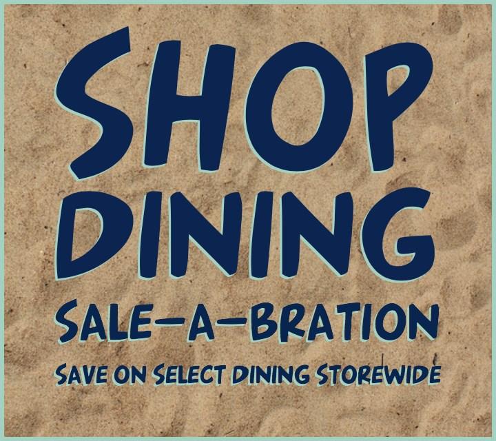 dining Sale-A-Bration