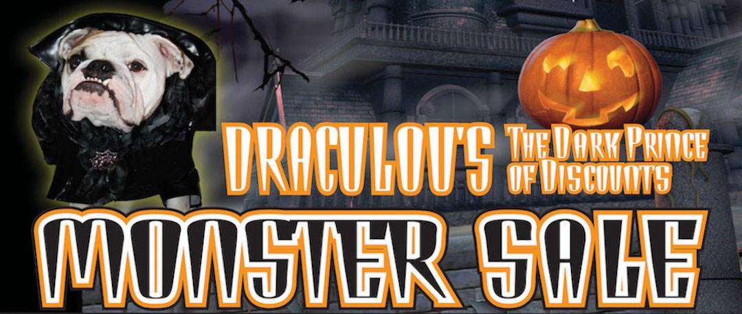 Draculous Monster Sale