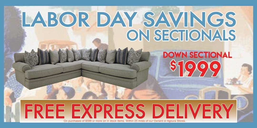 Labor Day Sectional Slide $1999