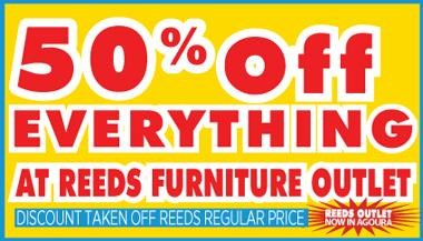 50% Off At Reed's Furniture Outlet!