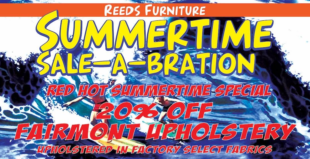 Summertime Fairmont Special