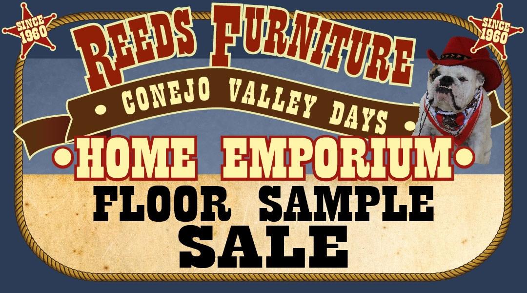 Floor Sample Sale