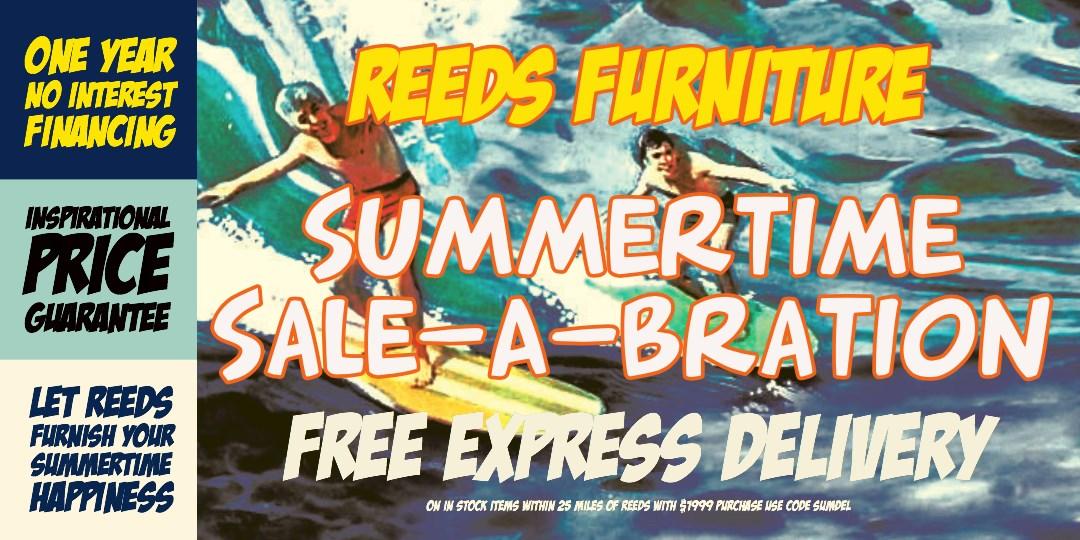 Summertime Sale-A-Bration