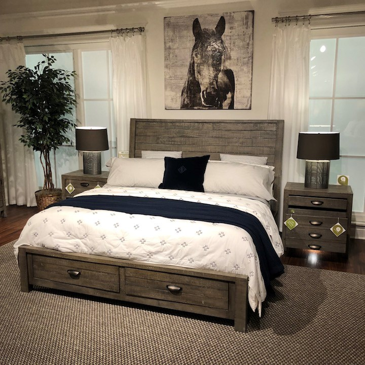 Aspen Oxford Peppercorn Bedroom