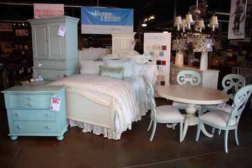 Blue bedroom group
