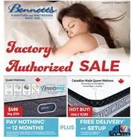 Factory Authorized Mattress SALE! Flyer