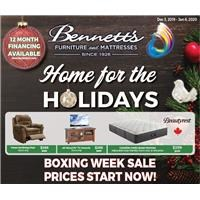 Home for the Holidays & Boxing Week Sale Prices Start Now!