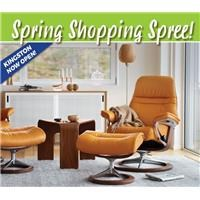 Spring Shopping Spree - March Flyer for Kingston store
