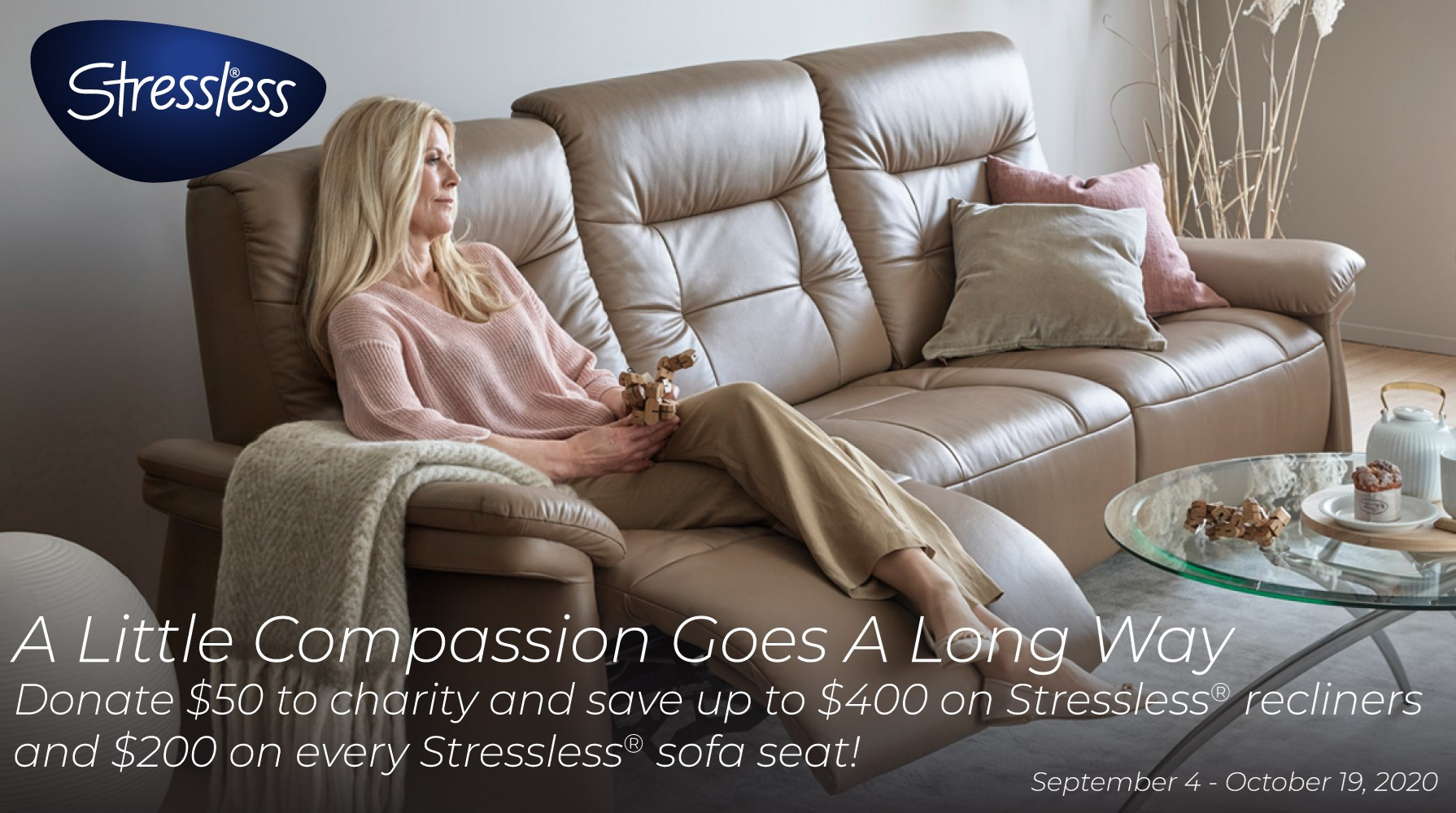Stressless Promotion - A little compassion goes a long way