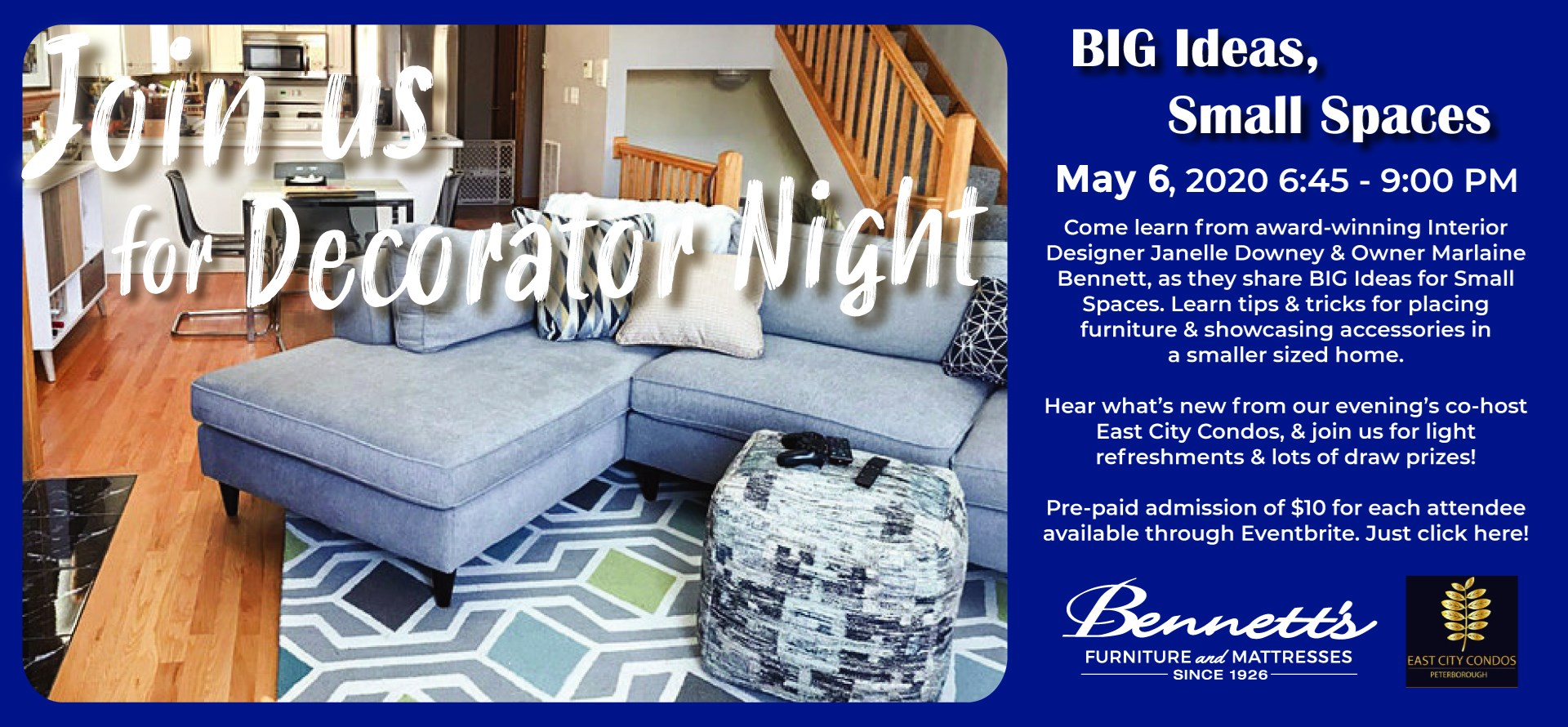 Join us for Decorator Night!