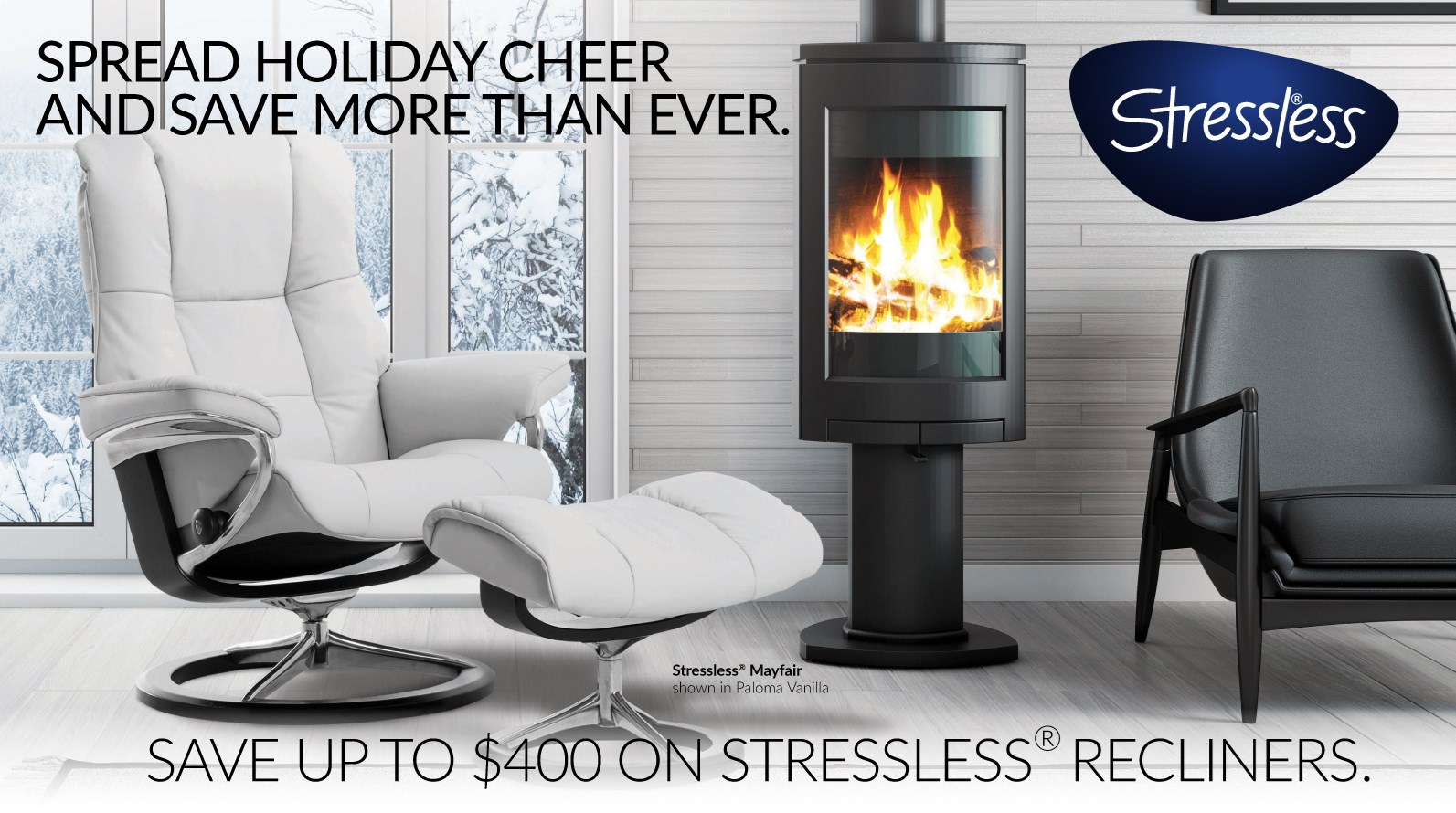 Stressless Charity of Choice Promotion