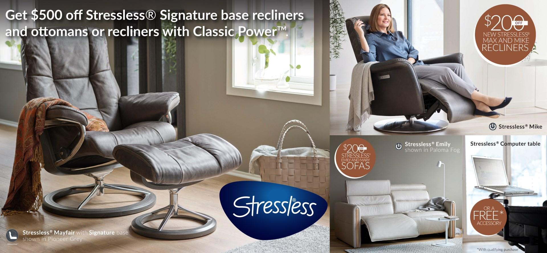 Stressless Base Plus Promotion