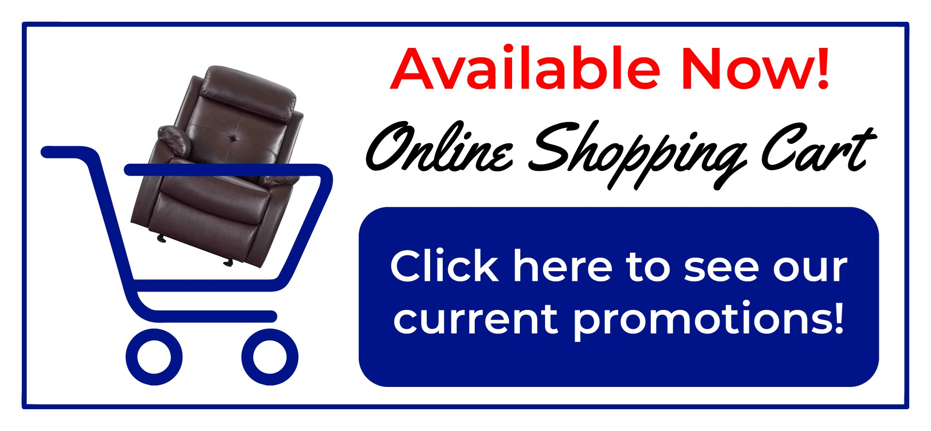 Online Shopping Available Now!