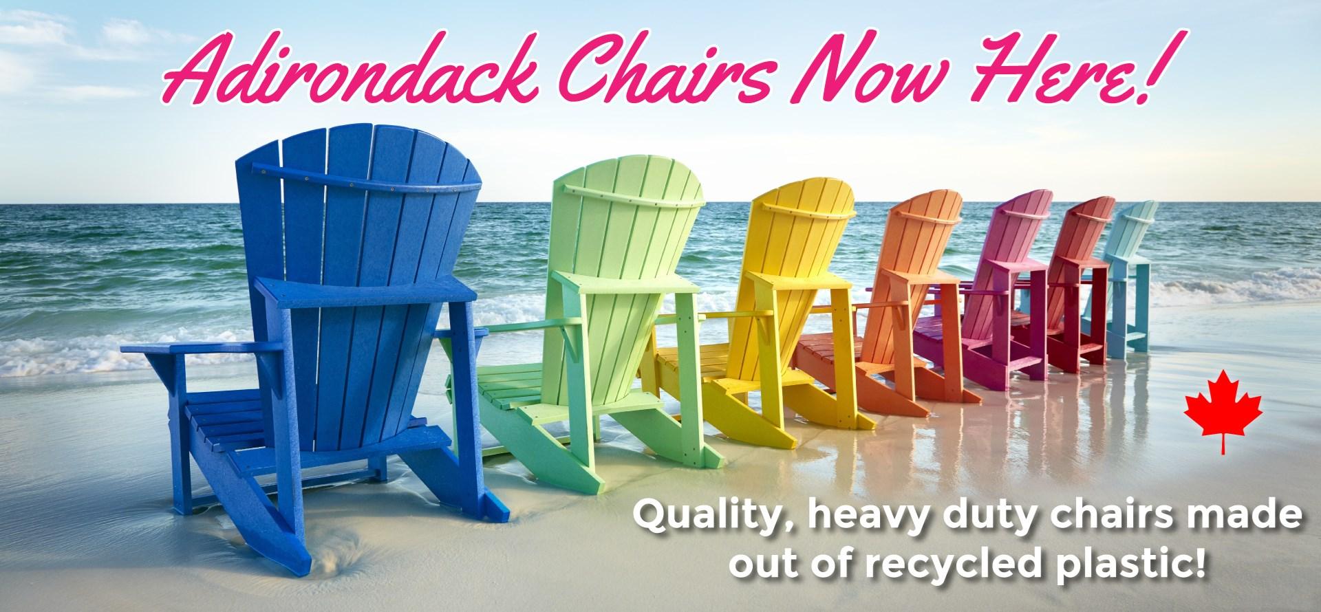 Adirondack Chairs Now Here!
