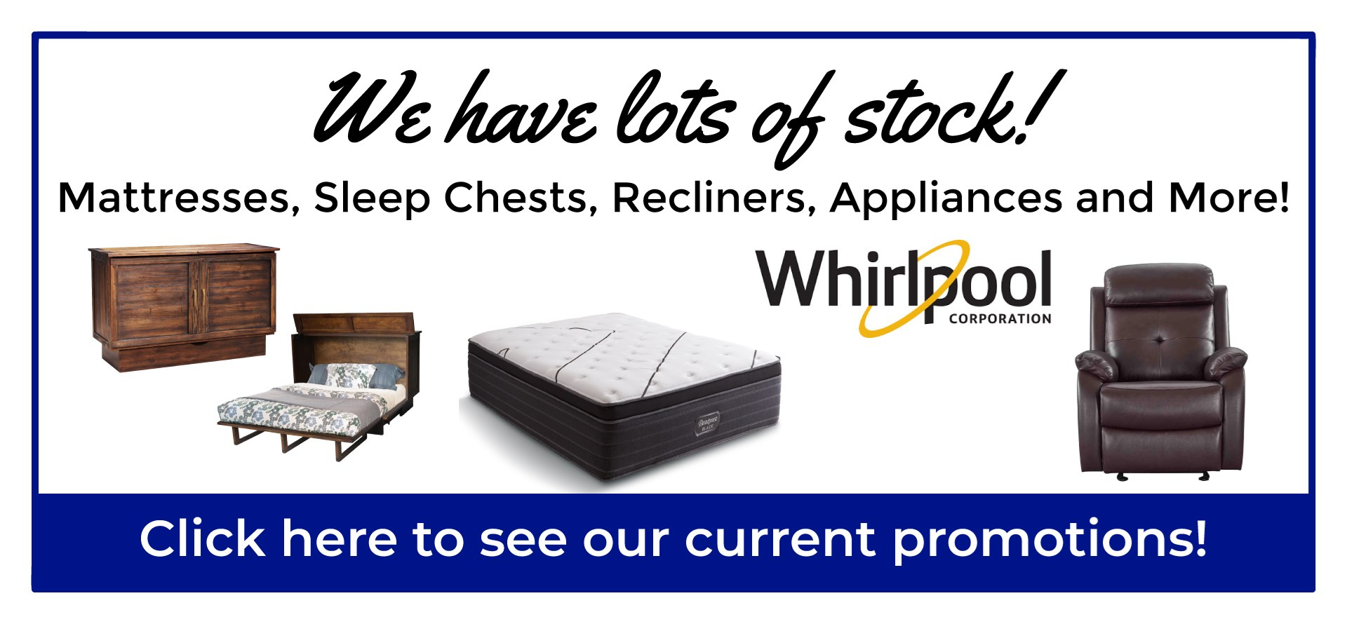Lots in Stock!