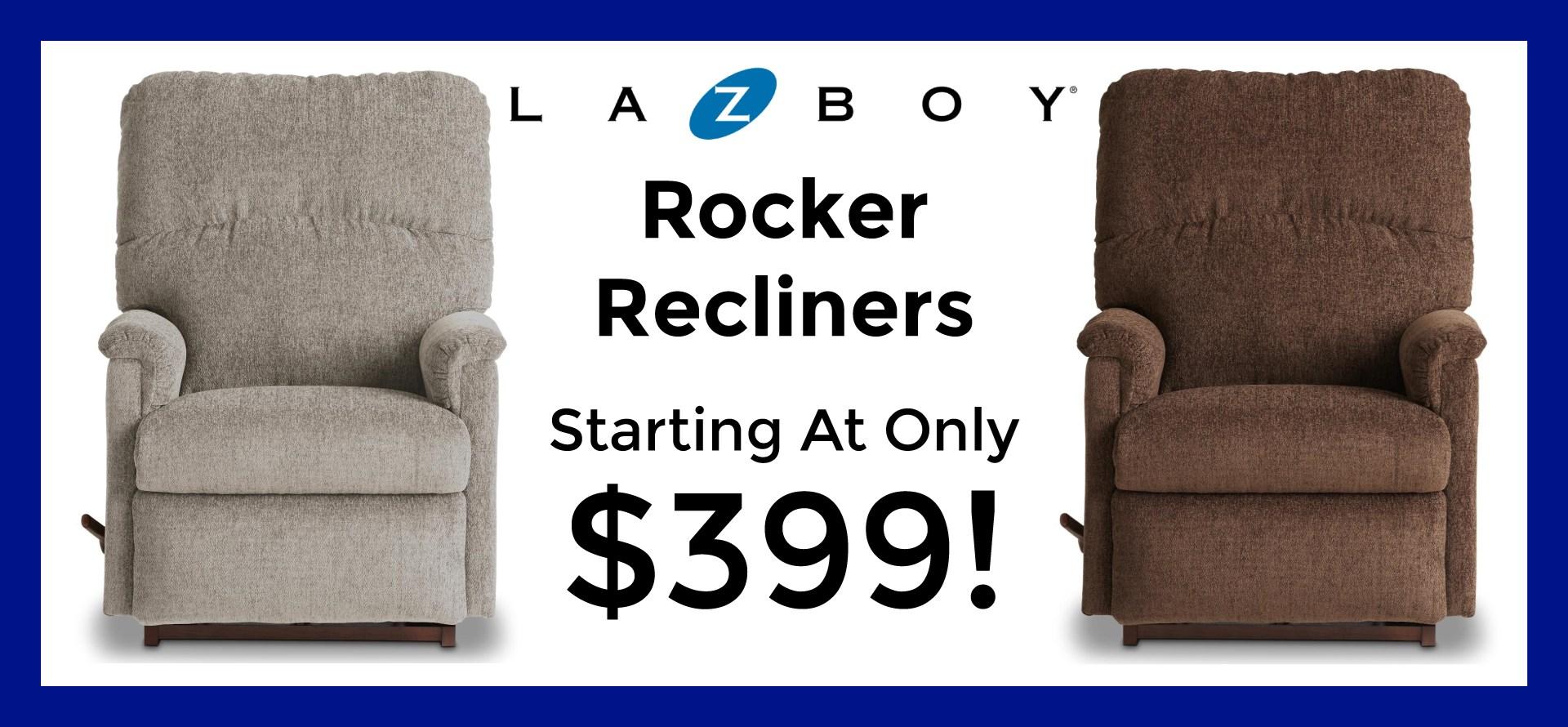 La-Z-Boy Rocker Recliners Starting At $399!
