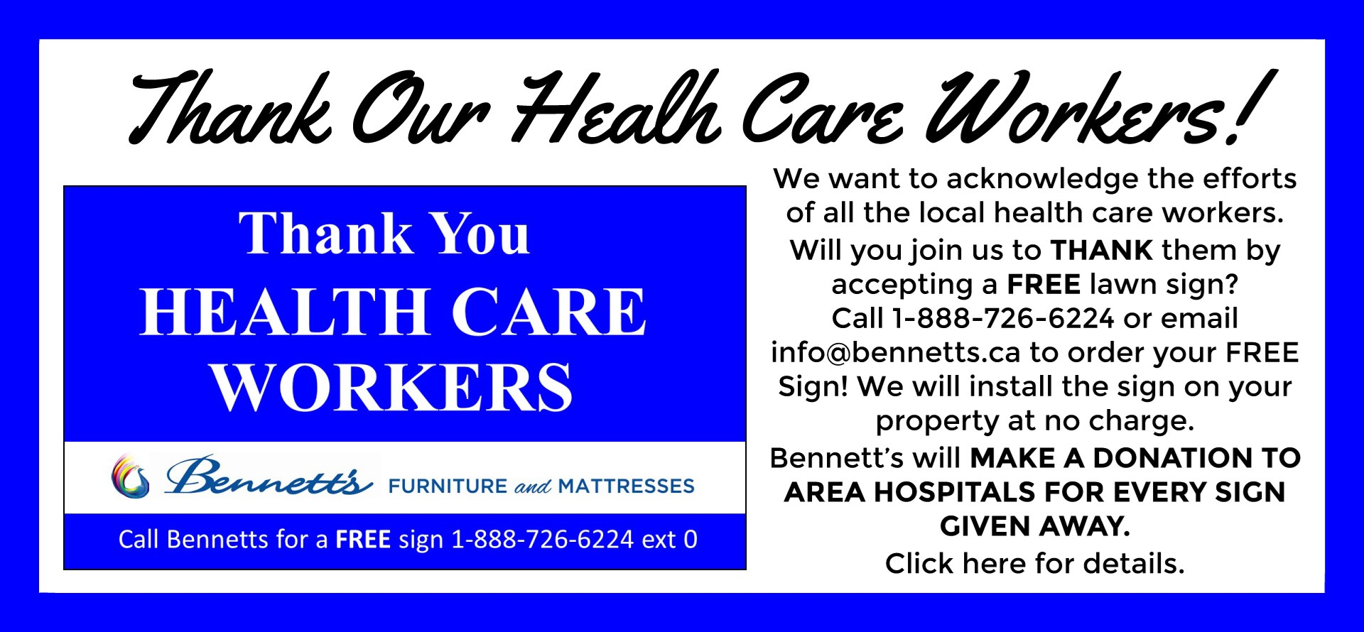 Thank You Health Care Workers!