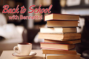 Back to School with Bennett's!