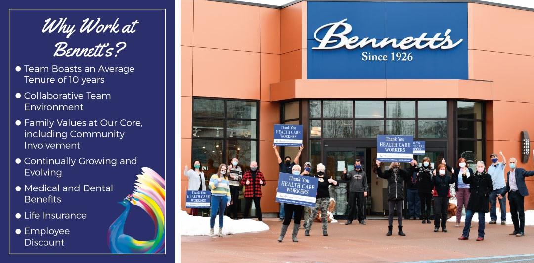 Benefits and Peterborough Staff