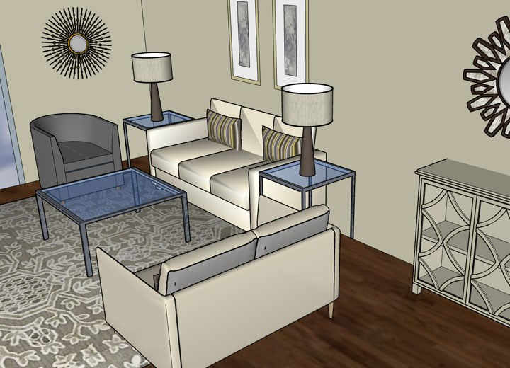 In-Store Design Plan Presentation
