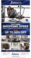 Customer Shopping Spree