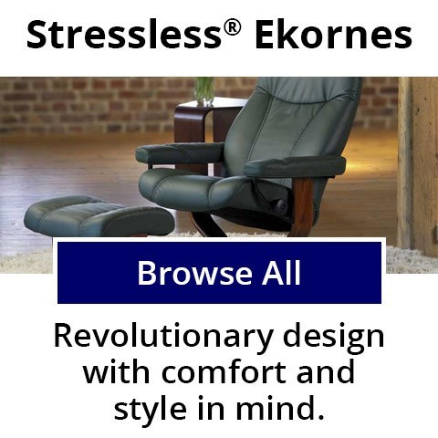 Stressless by Ekornes - Revolutionary design with comfort and style in mind.